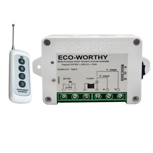 DC12V-24V-Wireless-Positive-Inversion-Remote-Control-Kit-for-Linear-Actuator