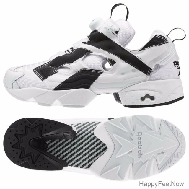 2e51d10ca1883b Reebok Instapump Fury OB Ar1413 Overbranded White Black DS Size 11 ...