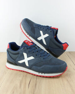 Munich-Scarpe-Sportive-Sneakers-Dash-Premium-60-Blu-Sportswear-Lifestyle-Uomo