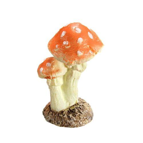 Figurine Garden DIY Miniature Mushroom Terrarium Resin