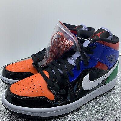 Nike Air Jordan 1 Mid SE 'Multi Patent' (W) CV5276-001 Size 11 W ...
