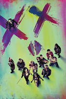 24x36 Suicide Squad Theatrical Style Poster Rolled And Shrink Wrapped