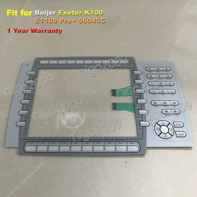 06045C One Year Warranty New Membrane Keypad for Beijer Exeter-K100 E1100 Pro