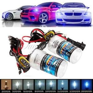 2X-35W-55W-Xenon-HID-Headlight-Bulbs-Lamp-H1-H3-H7-H8-H9-H10-H11-9005-9006-880