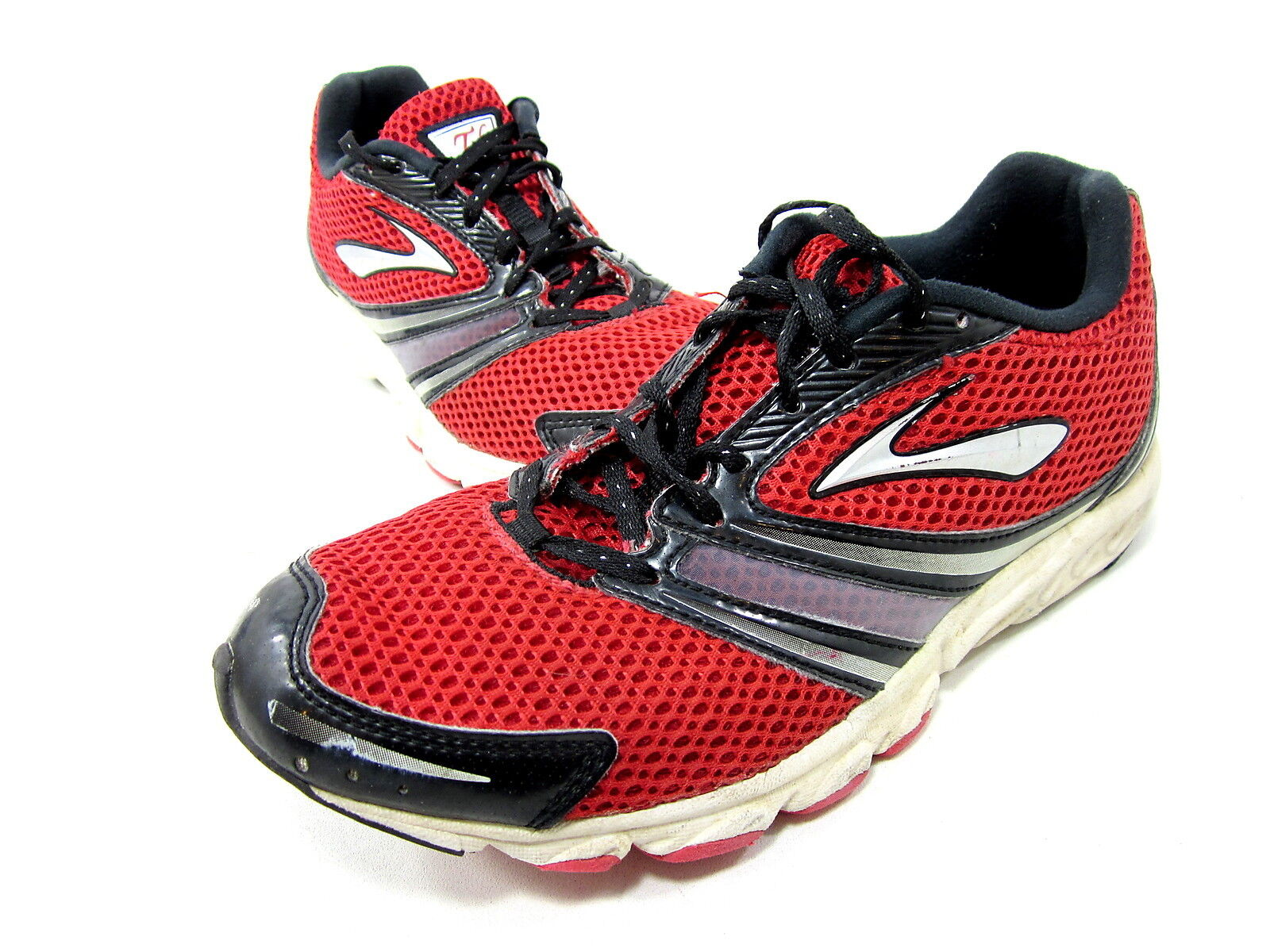 2e9b0533644 Brooks T6 Racer Unisex Red black silver US 5u Euro 37.5 Pre owned