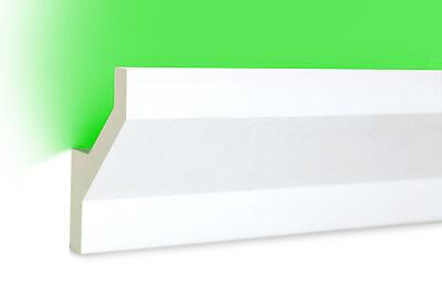 PU Stuckleiste indirekte Beleuchtung stoßfest 105x35 LED-5 10 Meter LED Profil