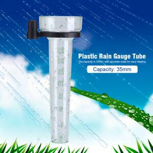 Regenmesser-Niederschlagsmesser-Regenmengenmesser-bis-35mm-Kapazitaet-Kunststoff