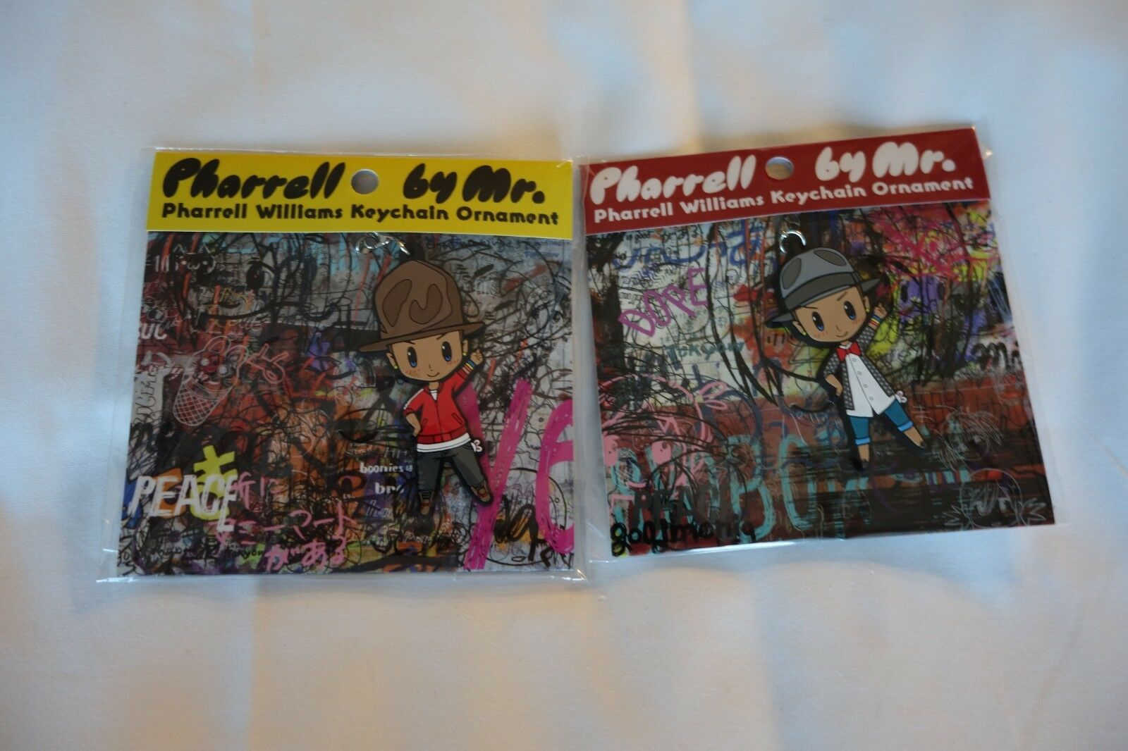 Takashi Murakami Complexcon 2017 Pharell by Mr. Key Chain Set of Two