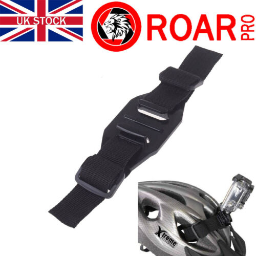 RoarPro Vented Bike Helmet Strap Mount Kit for All GoPro Cameras