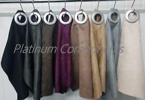 Neuf Daim Ameublement Décoration Rideaux Canapé tissu en 8 couleurs diverses libre p&p-afficher le titre d`origine H3LgU1G6-07222911-368562684
