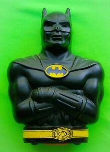 COOL 1992 DC COMICS BATMAN COLLECTORS PLASTIC COIN BANK