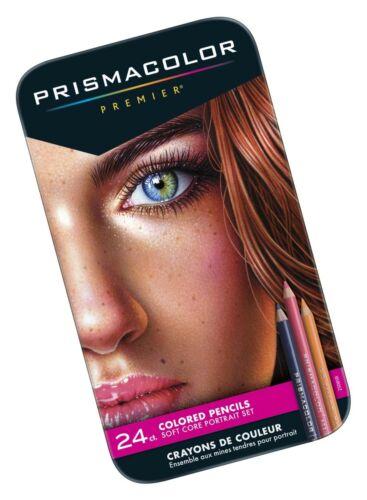 Soft Core ... Portrait Set Sanford 25085R Prismacolor Premier Colored Pencils