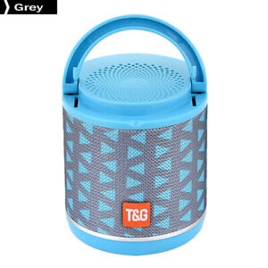 TG518-Bluetooth-Small-Speaker-Phone-Holder-FM-TF-Card-Subwoofer-Grey