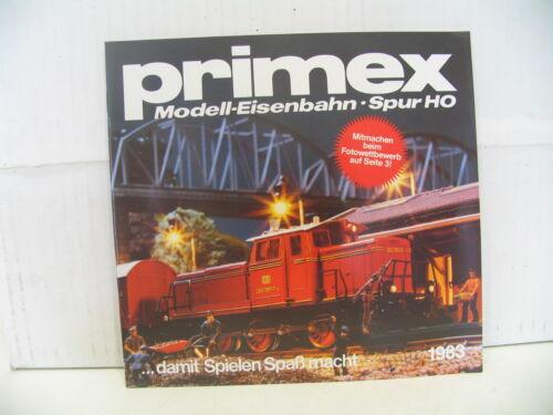 PRIMEX KATALOG 1983 TOP-ZUSTAND