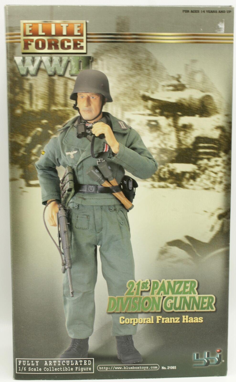WWII Elite Force CPL Franz Haas 21st Panzer Division Gunner BBI 12