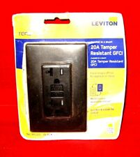 Leviton RKG15-NS Renu 15-Amp Tamper Resistant GFCI Color Change Kit Navajo Sand