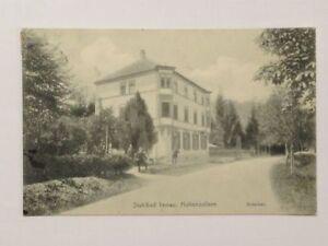 Postkarte  Stahlbad Imnau 1911
