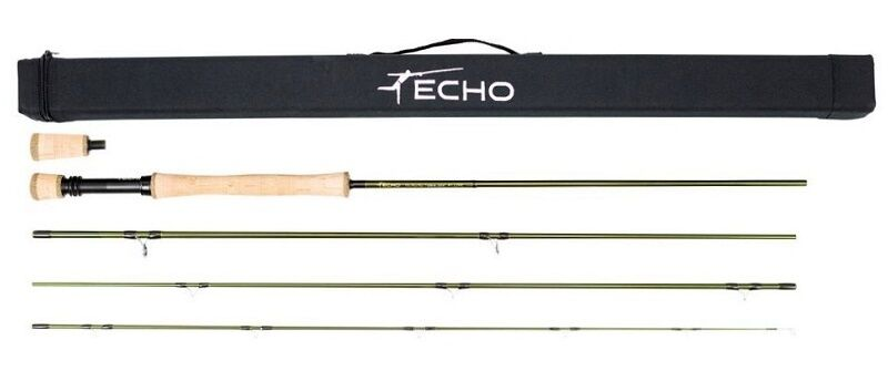Echo OHS (One Hand Spey) 7104-4 Fly Rod - 10'4  - 7wt - 4pc - NEW - Free Line