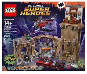 *BRAND NEW* Lego Super Heroes Set #76052 Batman Classic TV Series Batcave