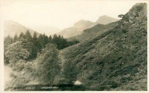 Langdale Pikes Postcard (Sankeys Ltd, Barrow-in-Furness E324-215) 1910s