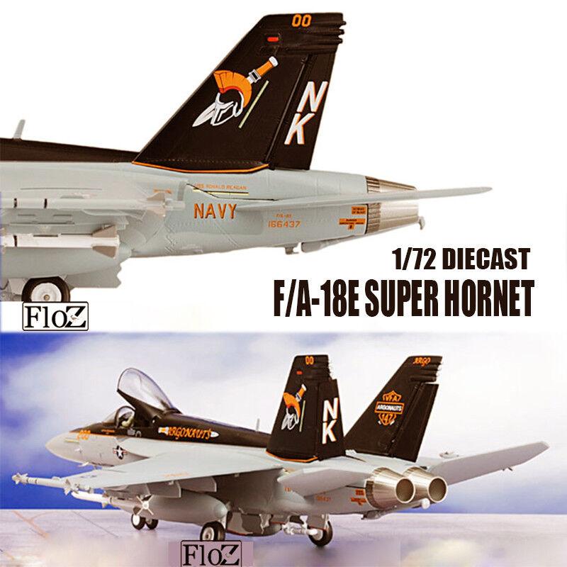 F A-18E SUPER HORNET VFA-147 Argonauts 1 72 DIECAST Aircraft Witty Model LIMITED