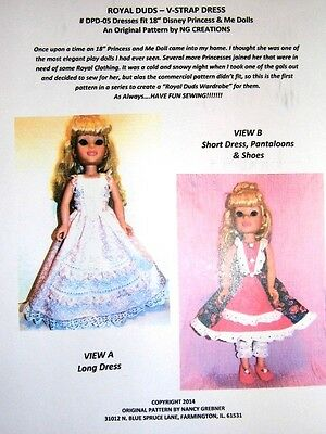 "NG Creations Sewing Pattern #2  fits 28/"" Best Fashion Friend Barbie Doll"