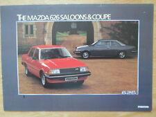 MAZDA 626 SALOONS & COUPE orig 1981 UK Mkt Sales Leaflet Brochure