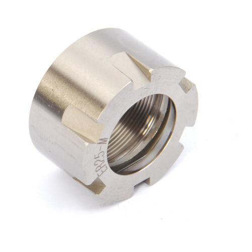 ER25M Collet Nut  M30 X 1.0 Pitch