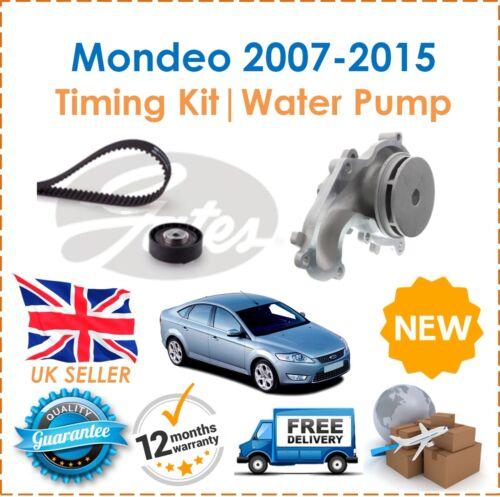 For Ford Mondeo MK4 1.8 TDCi Diesel Timing Cam Belt Kit Tensioner /& Water Pump