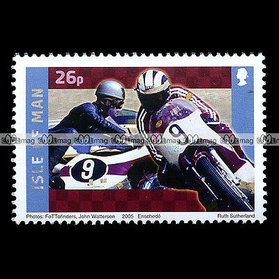 ★ YAMAHA 1955-2005 Fifty Years ★ ISLE OF MAN Timbre Poste Moto / Stamp #153