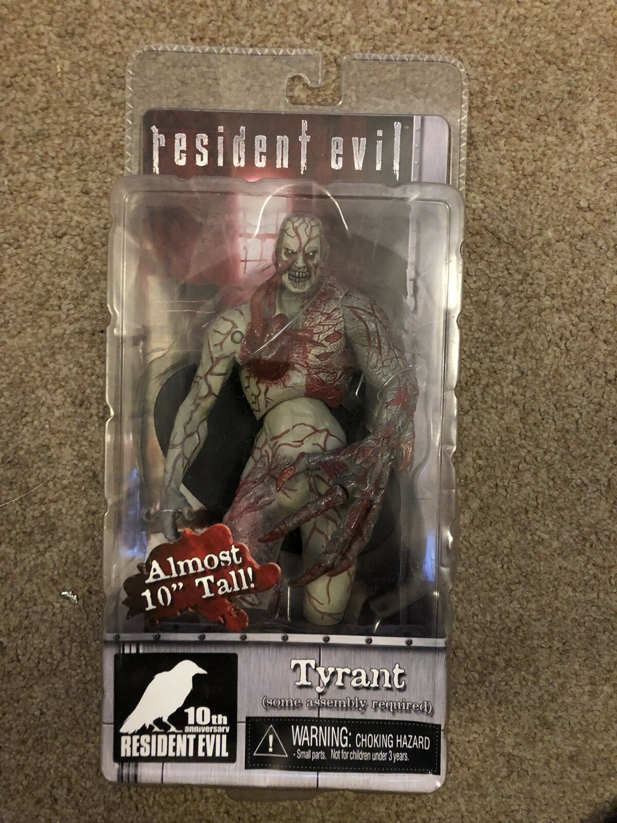 Resident Evil 10th anniversaire tyran Neca AF RE 10TH 5