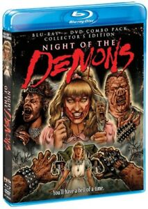 Night-of-the-Demons-New-Blu-ray-With-DVD-Collector-039-s-Ed