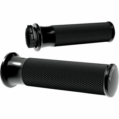 Todds Cycle Black Rubber Vice Grips for 1982-2017 Harley Dual-Cable