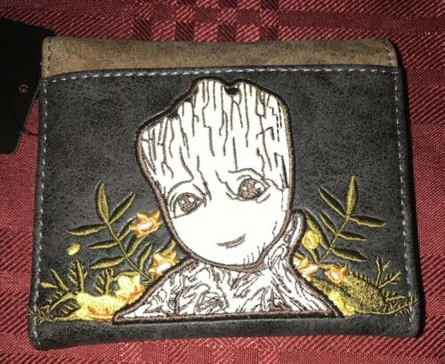 Marvel Loungefly Guardians of Galaxy Groot Wallet NEW