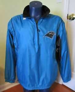hot sale online 7398b aeee7 NFL Carolina Panthers Reversible Pullover Jacket Polar ...