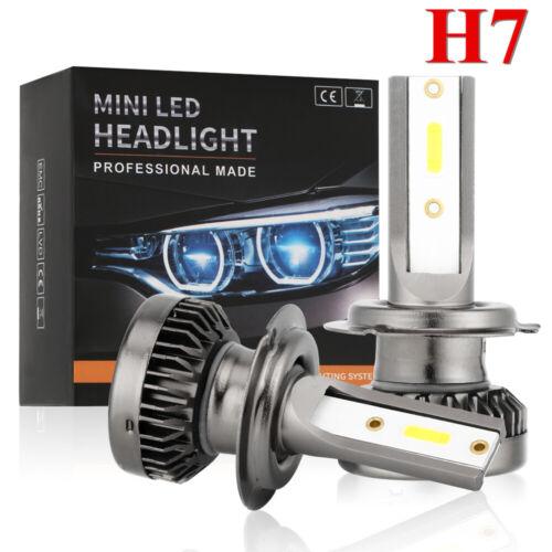 4x Mini 9005+H7 200W 48000LM Car LED Headlight Kit High Low Light Bulb 6000K UK~