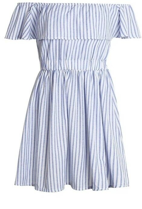 Summer Cotton Casual Beach Dress