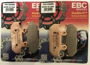 EBC Sintered FRONT Disc Brake Pads (2 Sets) Fits HONDA CBR1000F (1987 to 1988)