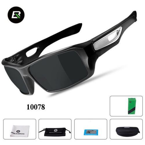 ROCKBROS Bicycle Polarized UV400 Full Frame Sunglasses Cycling Goggles Eyewear