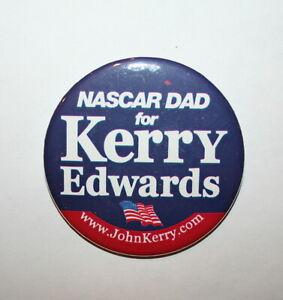 Bush President Campaign Button Political Pinback Pin 2004 Kerry vs