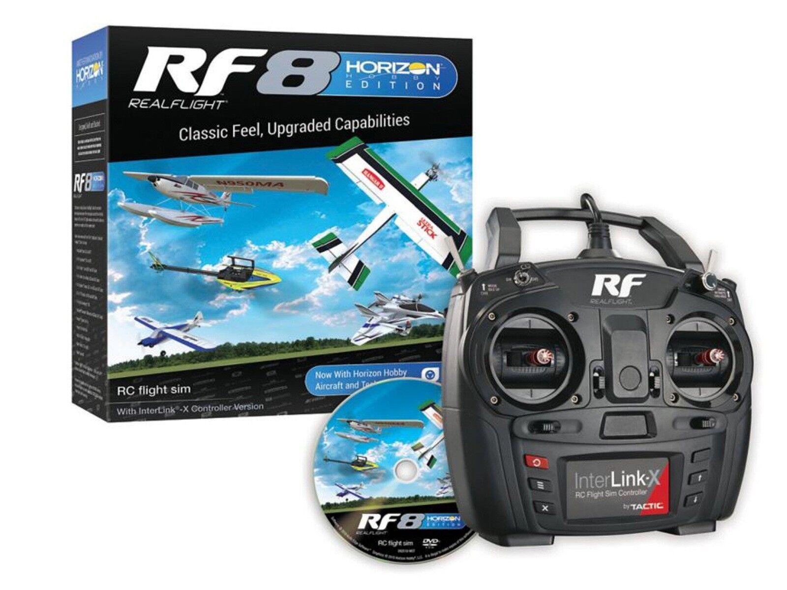 RealFlight RF8 with Interlink X Horizon Hobby Edition - RFL1000