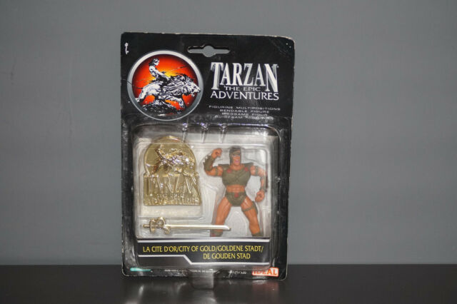 La Cité d/'Or Ideal 97520-1990 Figurine Tarzan the Epic Adventures