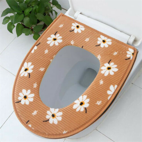 Non-slip Printed Toilet Cover Seat Mat Zipper Shower Set Bathroom Product SHAN