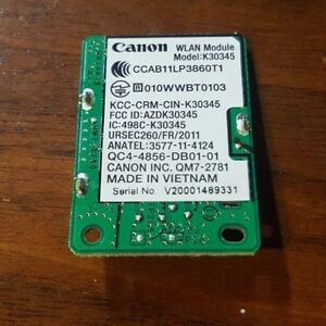 Details about Canon Printer K30345 WLAN Module Network Card - TESTED