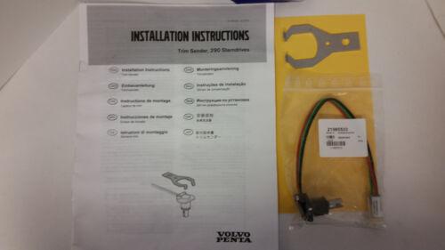 Volvo Penta New OEM Potentiometer Trim /& Tilt Sender Sensor Kit 22314183 873531