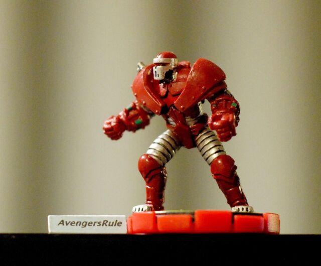 Marvel Xplosion Heroclix 053 Crimson Dynamo Experienced