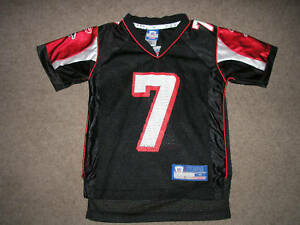 Image is loading MICHAEL-VICK-7-NFL-Football-Jersey-Youth-Small- 0f6dfac25