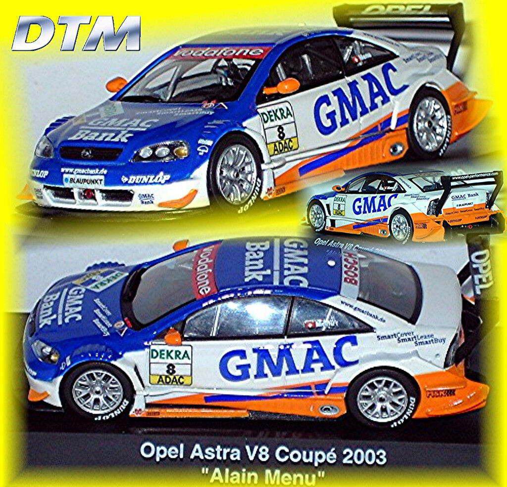 Opel Astra V8 Coupé DTM 2003 GMAC A.Menu  43 Schuco