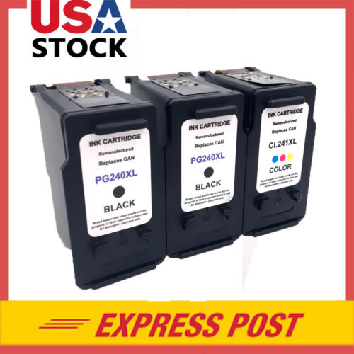 PG-240XL /& CL 241 XL Ink Cartridge for Canon PIXMA MG3522 MG2120 MG2220 MG322