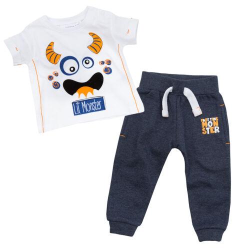 Jungen Trainingsanzug Jogginghose und T-Shirt Set Vier Stile Neugeborenes bis Zu